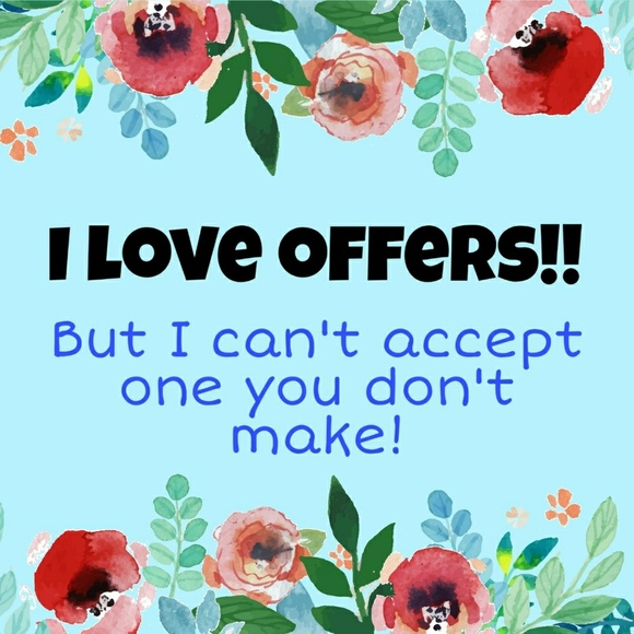 Other - Make an offer! Bundle your likes for a great deal!